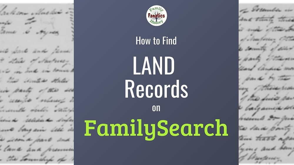 Land Record Screenshot from FamilySearch