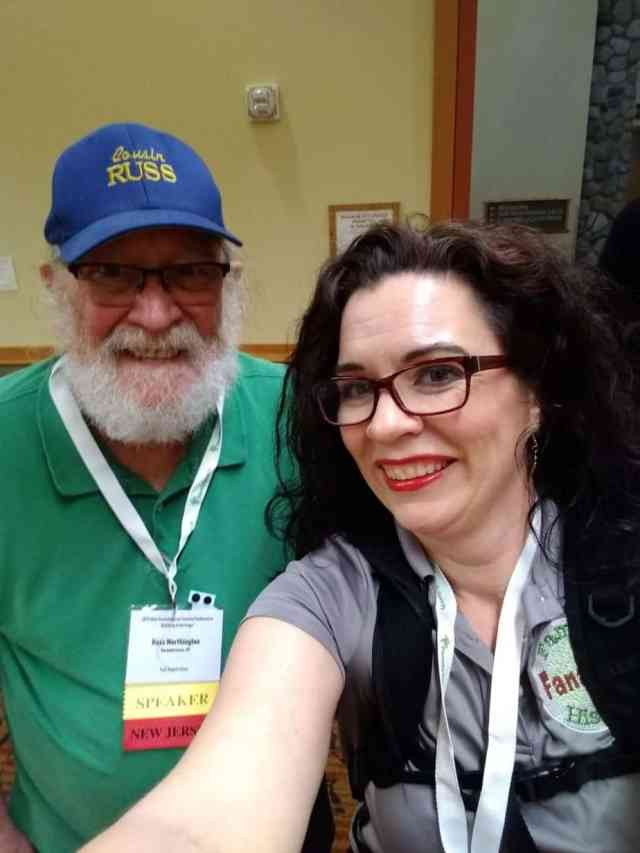 Cousin Russ and Devon Noel Lee at the OGS Conference