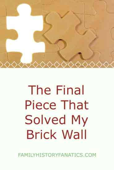 Review how a combinations of clues help to confirm my theory when researching my genealogy brick wall. #genealogy #methodology #researchplans