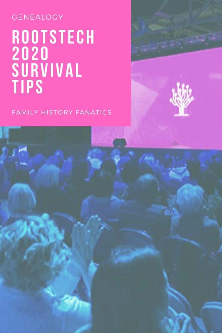 RootsTech 2020 Survival Guide