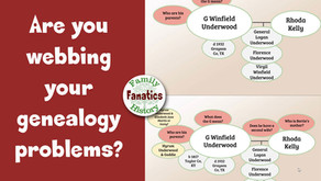 Are You Mapping Out Your Genealogy Research Problems?