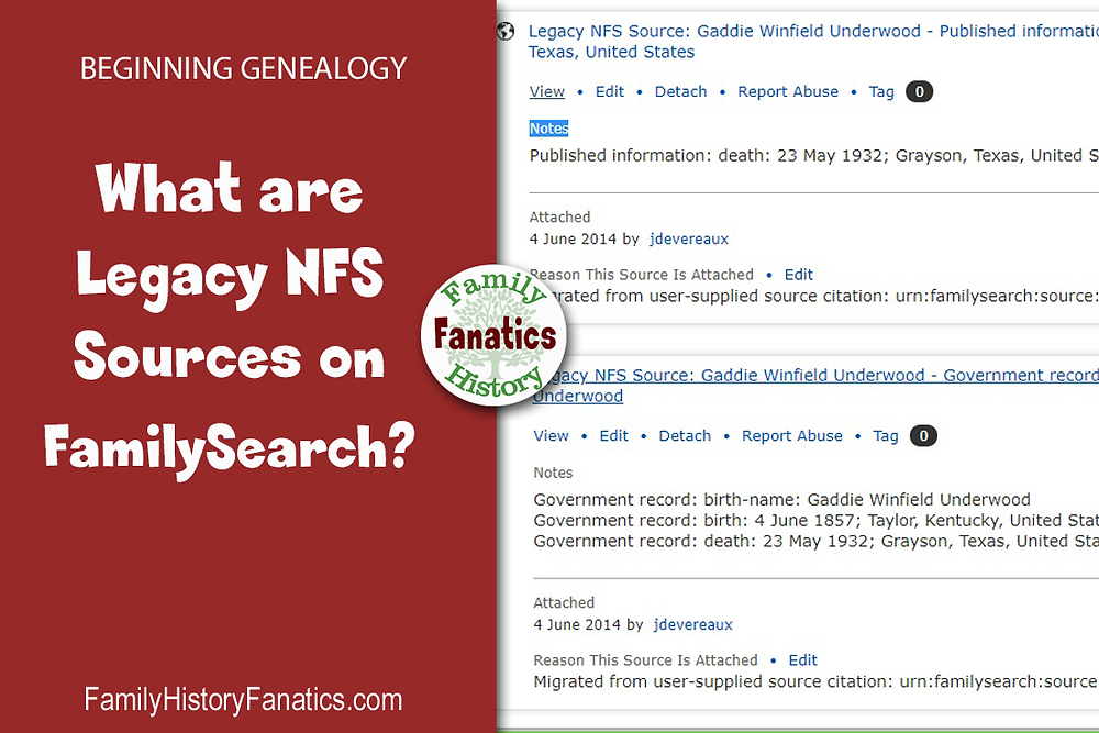 Legacy NFS Sources on FamilySearch