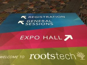 RootsTech 2017 floor Signage