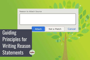 Guiding Principles for Writing Reason Statements on FamilySearch