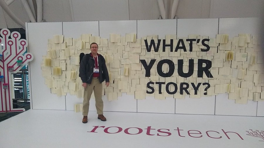 Andy Lee at RootsTech 2020