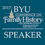 BYU Family History Conference Speaker