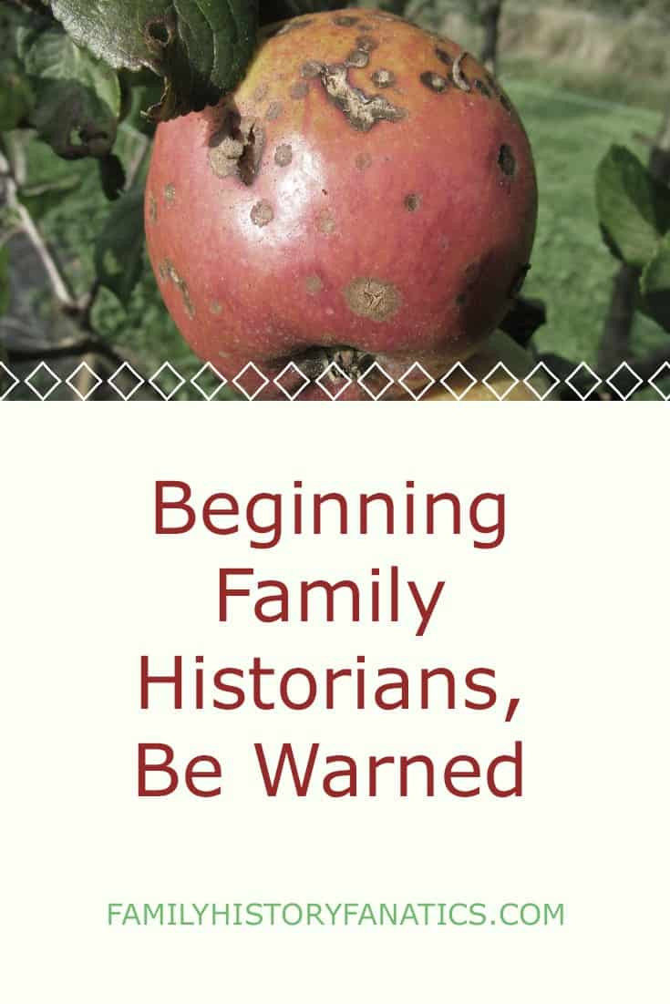 Genealogy has a lot of pitfalls and beginning genealogist can fall into traps. Don't be caught off guard! #genealogy101 #genealogy #ancestry