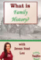 Free Webinar - What is Family History