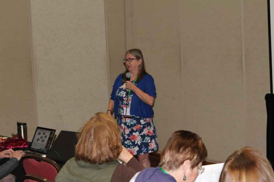 Diane L Richard at Texas State Genealogy Society 2018 Conference