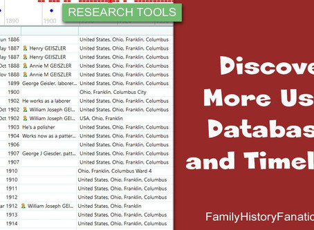 Discover More Using Databases and Timelines