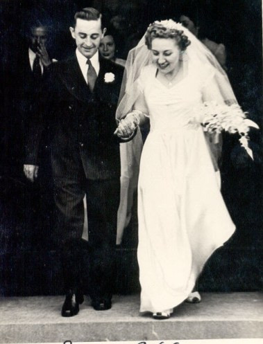Wedding of Harry Dale and Margie (Geiszler) Wasson