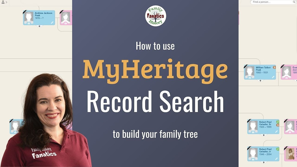 Video: How to use Meritage Record Search  to build your family tree