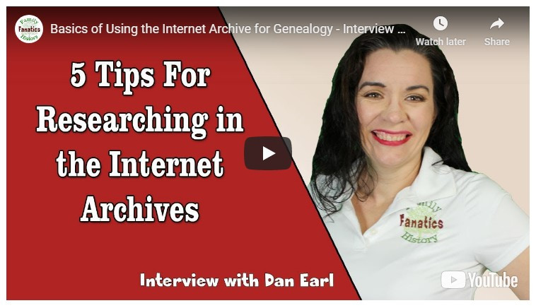 VIDEO: How to research internet archives