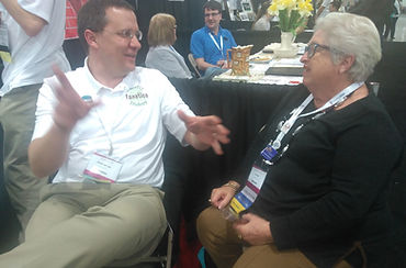 Andy Lee and GeniAus at RootsTech
