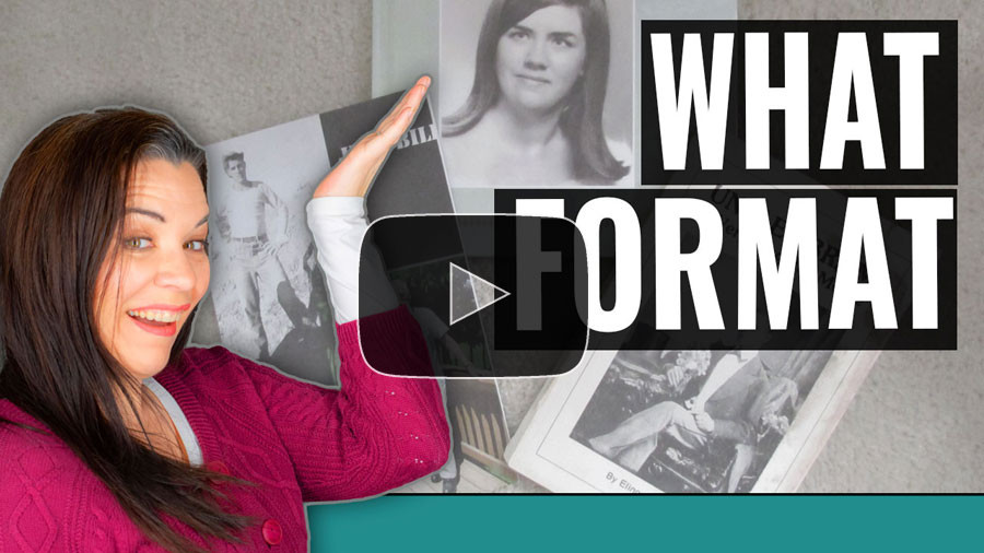 VIDEO: What family history book formats should you choose?