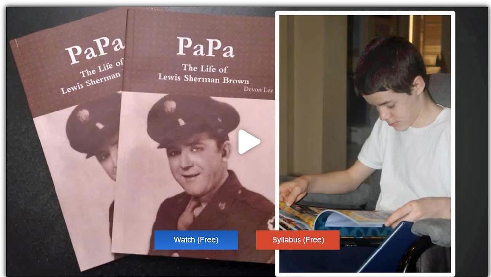 A genealogy writing webinar using MyHeritage records