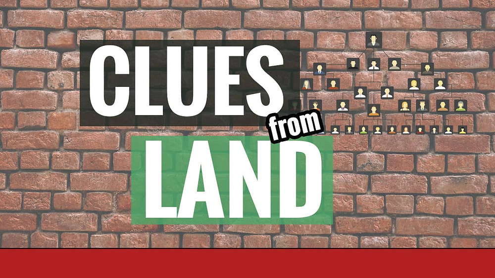 Genealogy Brick wall with Title Clues from Land Records