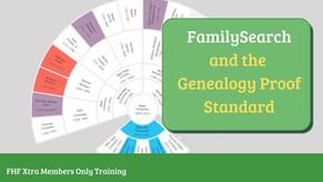 Applying the Genealogy Proof Standard on FamilySearch  - Webinar