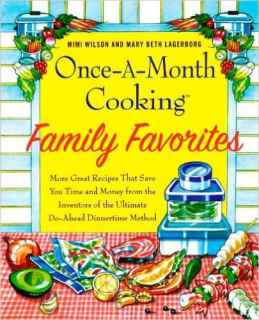 Cover of Once a Month Cooking Cookbook
