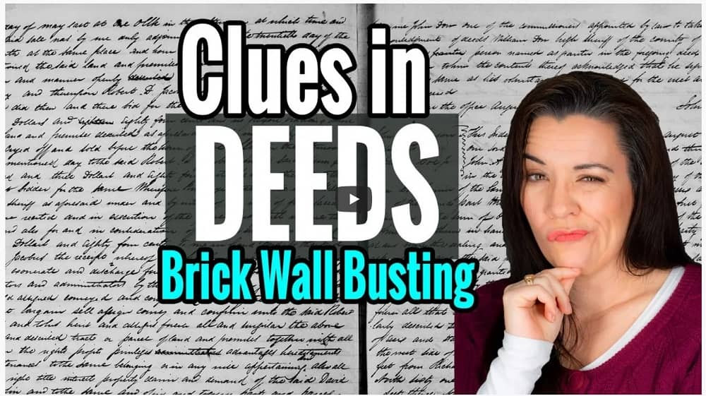 video How to Research Land Records for Genealogy Brick Wall Clues