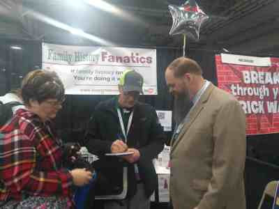 Michael Strauss Genealogist at RootsTech