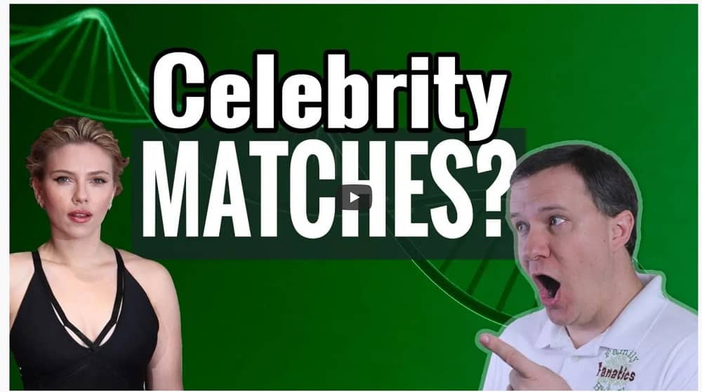 VIDEO: Can Ancestry prove a DNA match to a celebrity?