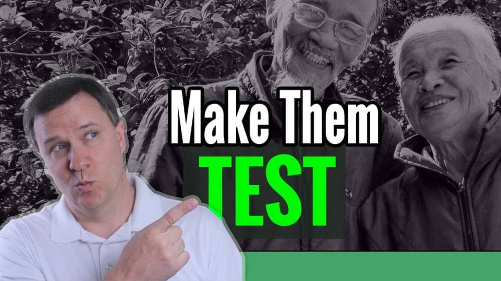 Video: How to make a relative take a DNA test