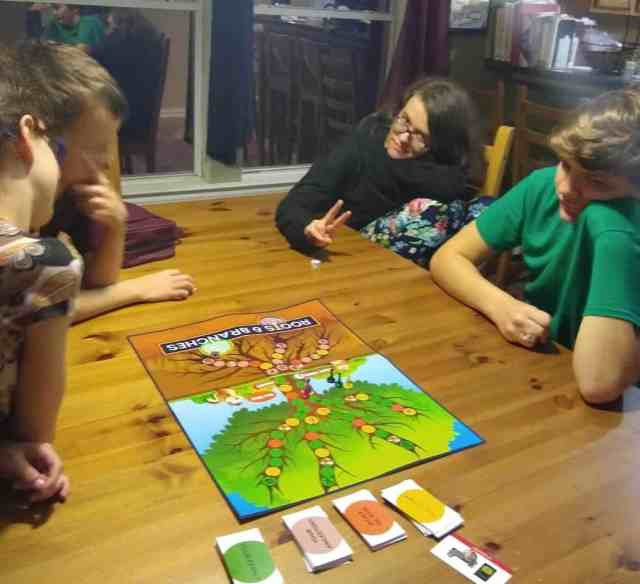 Play Roots and Branches with the family.