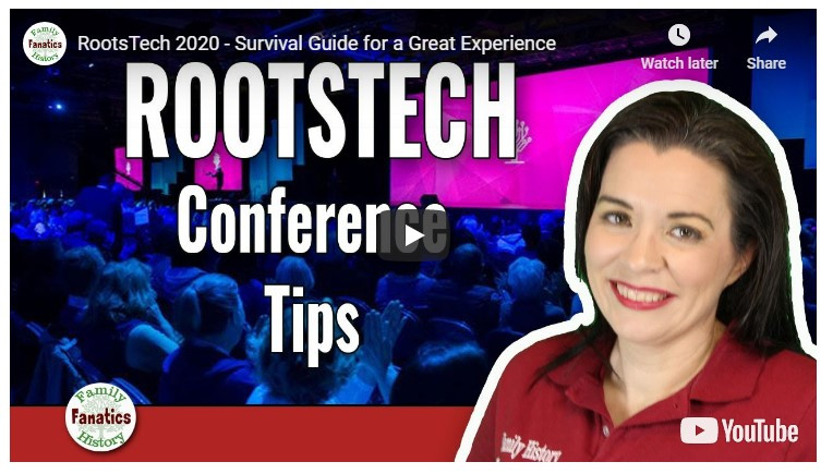 VIDEOS: RootsTech 2020 Survival Guide