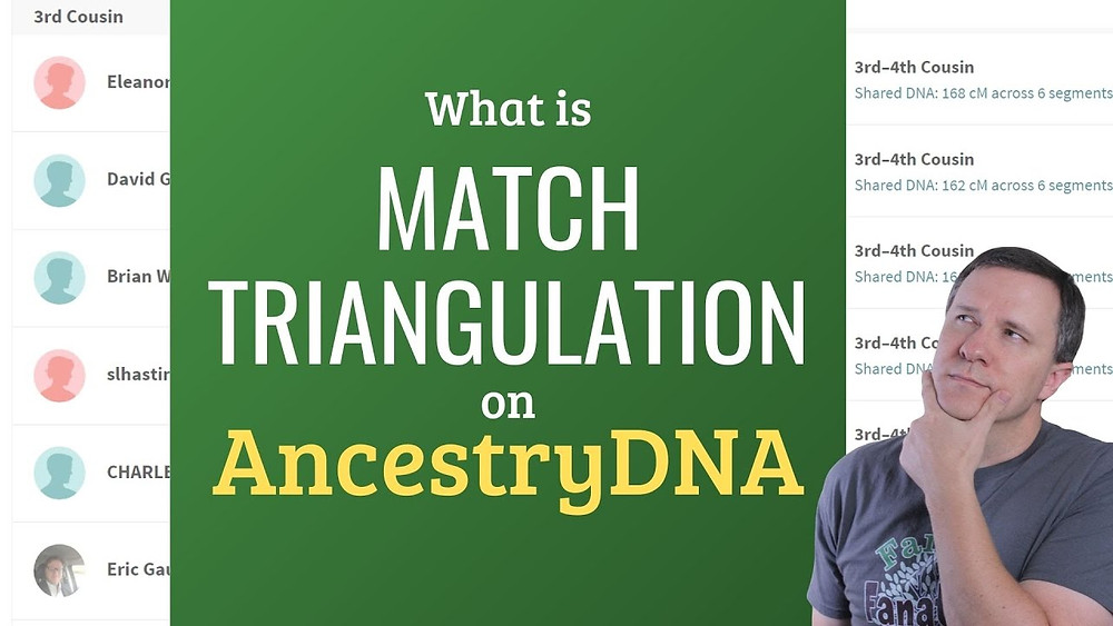 AncestryDNA: What is DNA Triangulation Using Shared Matches?