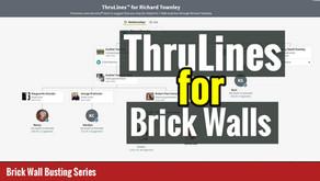 Can Ancestry DNA ThruLines  Help Solve Genealogy Brick Walls?
