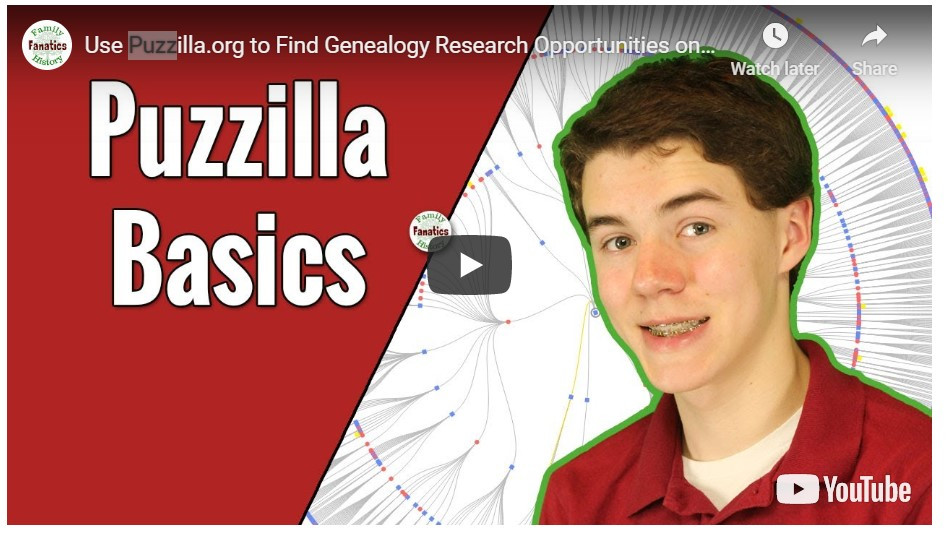 VIDEO: How to find genealogy research opportunities with Puzzilla