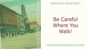"""Be Careful Where You Walk – """"An Outlander"""" Themed Genealogy Blog Party"""