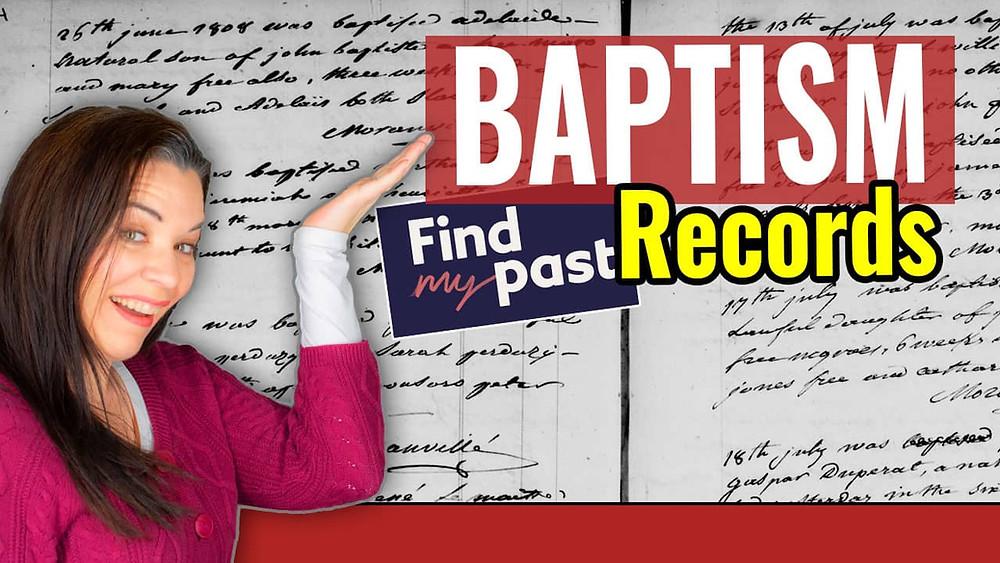 Video: Findmypast Catholic Baptism Records