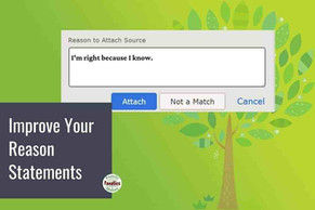 Writing Better Reason Statements on FamilySearch About What You Know