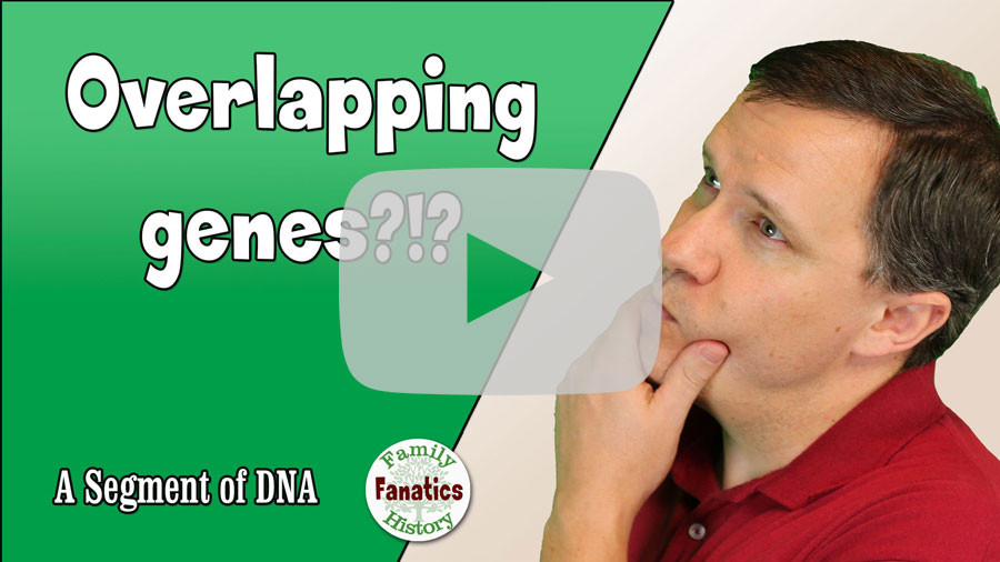 VIDEO Understanding Overlapping genes on GEDmatch