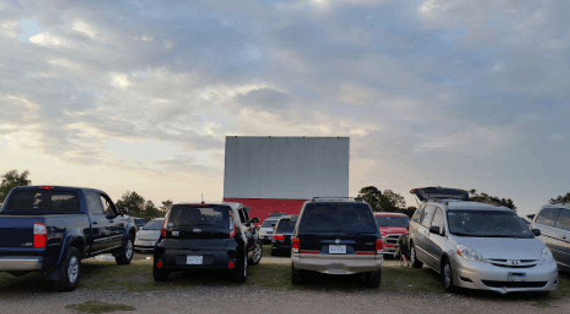 Katy Drive In Movie Theater - Photo by Bill Oswald