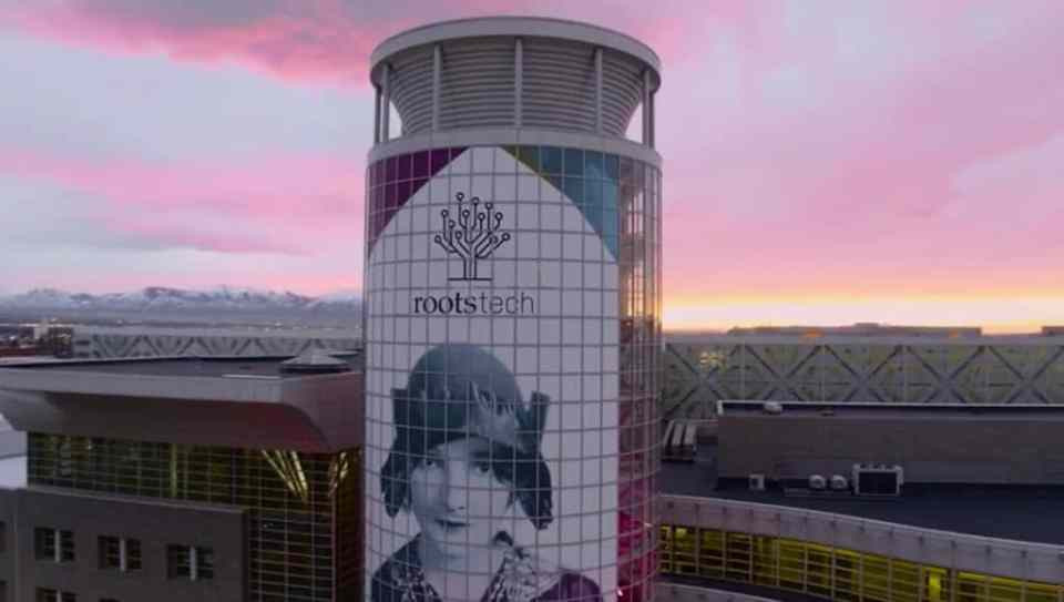 RootsTech 2017 tower Signage