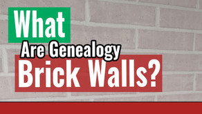 What are Genealogy Brick Walls?