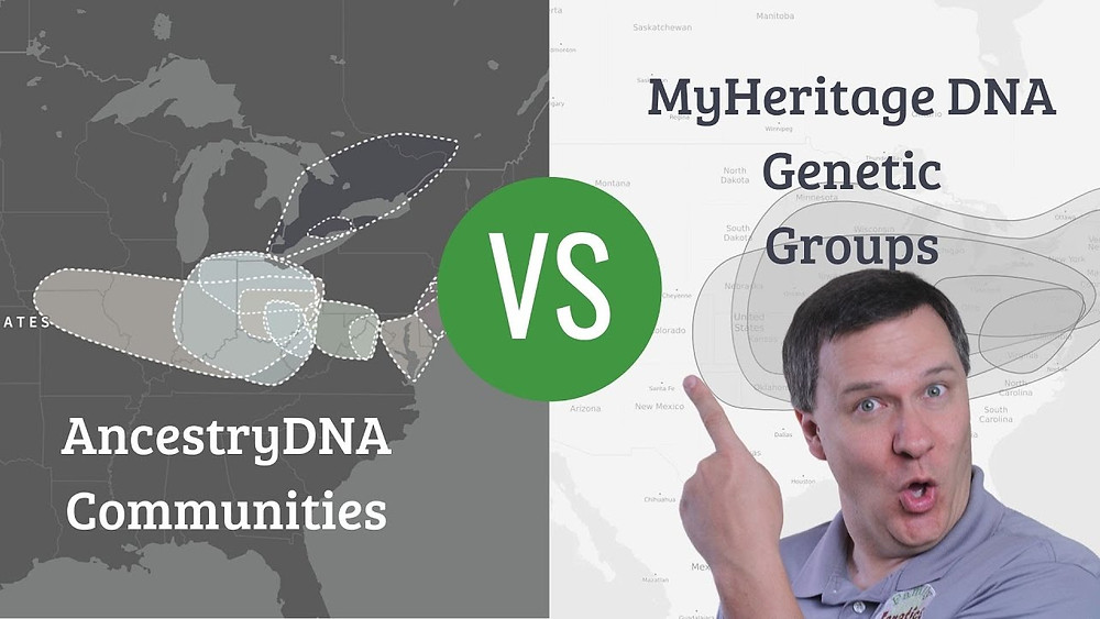 VIDEO: AncestryDNA vs MyHeritage DNA: Who as Best Genetic Ethnicity Groups?