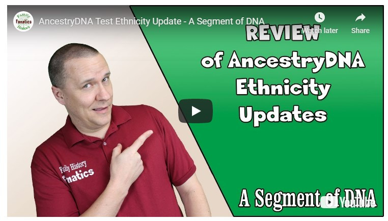 video Ancestry Ethnicity Estimates