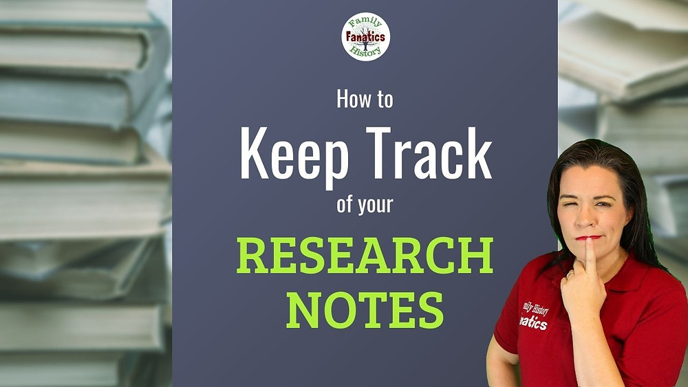 Video: How to Keep Track of your Research notes