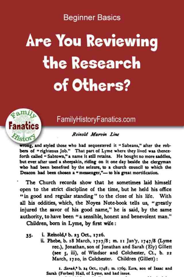 Learn why you should be reviewing the research of those who compiled your family tree before you. You just might discover they took a wrong turn. #genealogy #ancestors #research