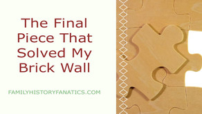 The Piece That Solves My Genealogy Brick Wall of Agnes Anderson