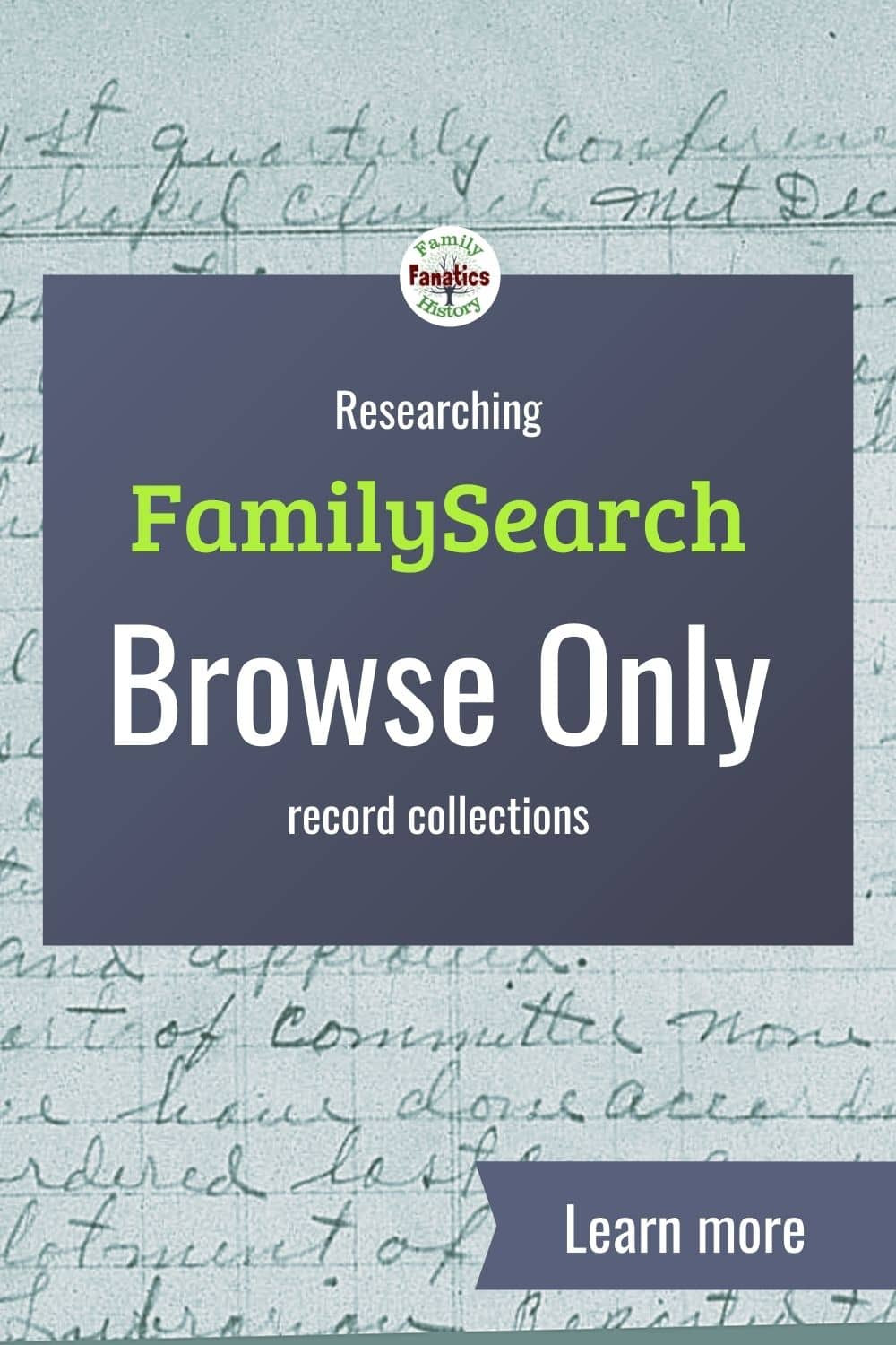 Church records from FamilySearch with title researching FamilySearch Browse Only images