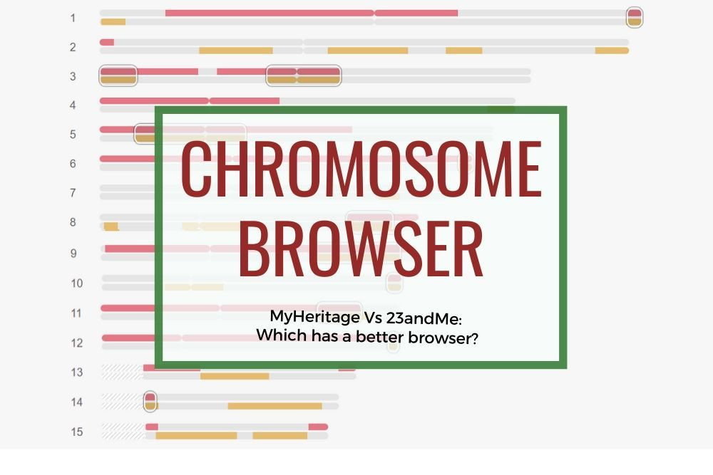 Who has a better chromosome browser 23andMe or Myheritgage