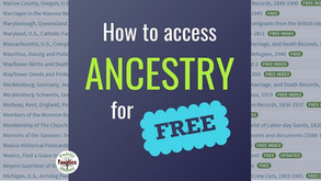 How to Research Your Family Tree For Free on Ancestry