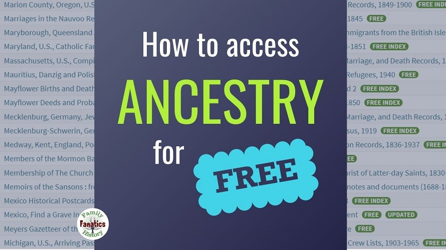 How to build your tree on Ancestry for free