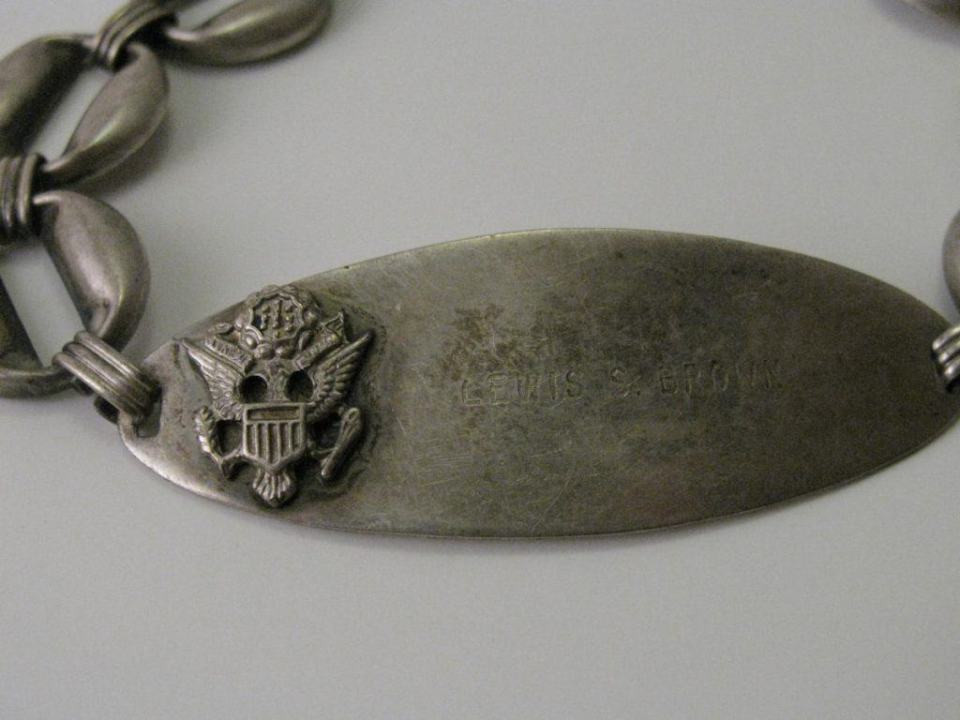 Photography Keepsakes - WWII Name Bracelet
