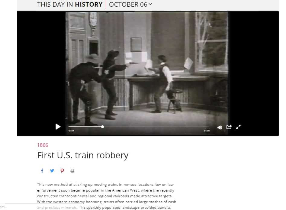 History Channel - This Day History